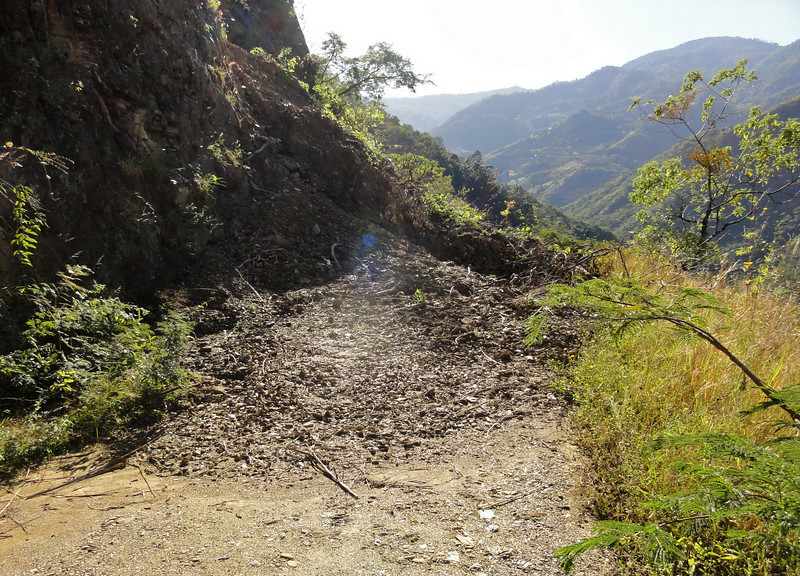 The final 'Stopper' on the 'Road to Nowhere'. Sierra Madre Oaxaca(?)