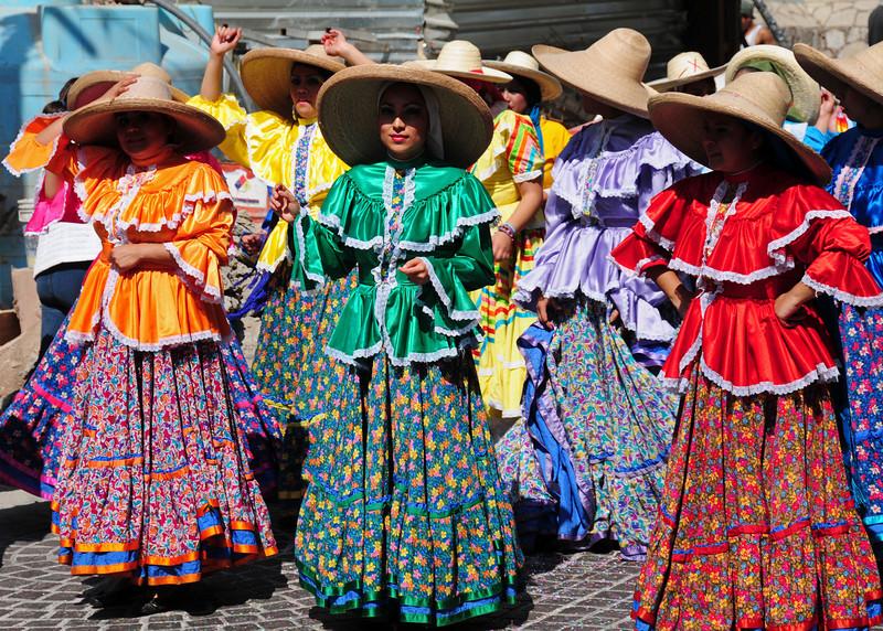 2010 'Bicentennial of the Revolution' parade in Guanajuato