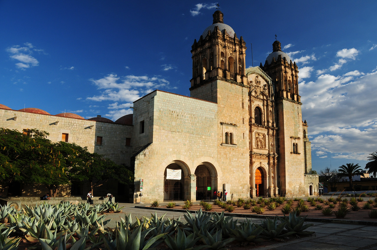 Church of Santo Domingo de Guzman,  Oaxaca
