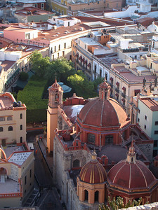 Jardin de la Union, the heart of Guanajuato. http://en.wikipedia.org/wiki/Alh%C3%B3ndiga_de_Granaditas