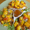 Fish tacos with mango salsa - mmmmmmmmm