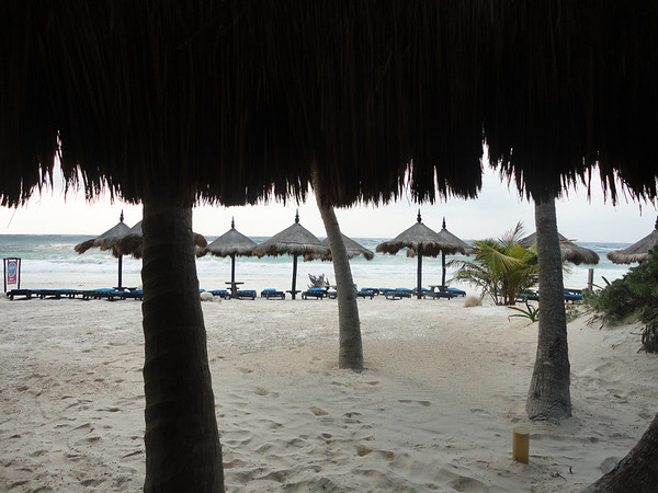 View from the cabana