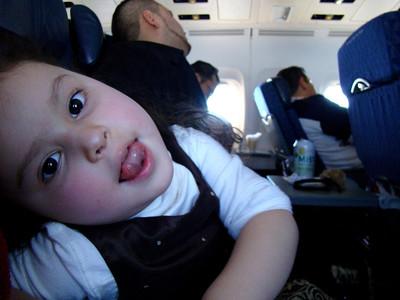 My airplane seatmate, Vidalis Yoliana Ramirez, a cutie.