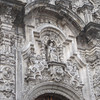 Carvings over main portal to La Catedral Metropolitana in Mexico City.