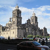 Catedral Metropolitana in Mexico City. Oldest cathedral in the Americas.