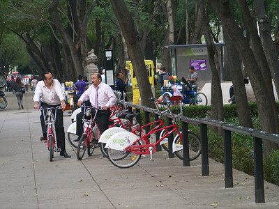 Mexico City's bike program