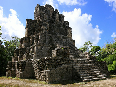Muyil - One of the oldest Mayan sites with artifacts dating to 350 BC
