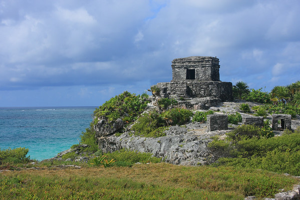 Tulum Ruins - Mayan Port City Constructed 1200-1450