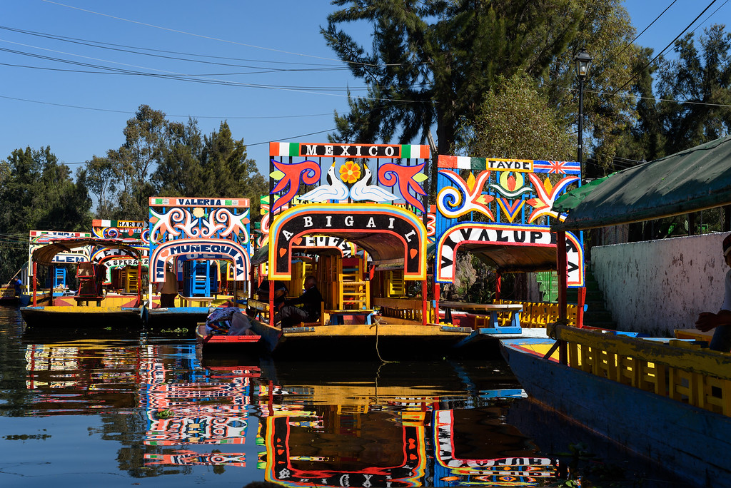 Floating Gardens of Xochimilco