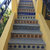 nice details - stairs to roof top patio