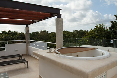 Our Rooftop Deck and Jacuzzi