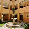Courtyard in our building