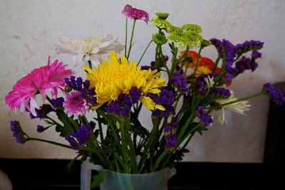 Flowers from Mercado Jamaica.