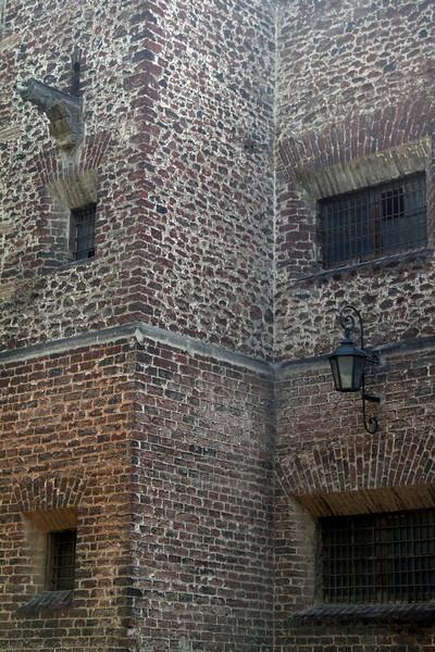 Brick detail at Santa Teresa.