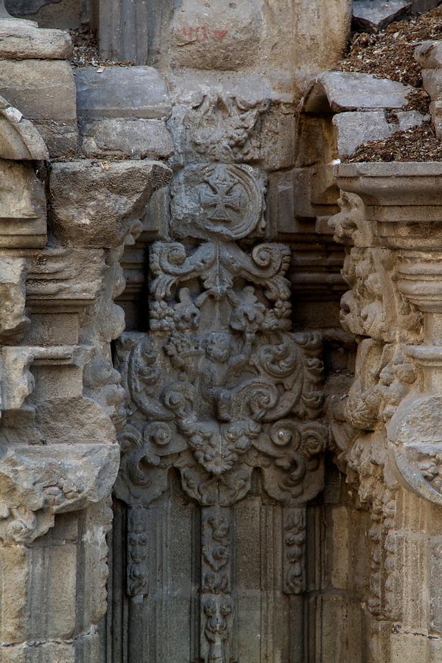 Santisima Trinidad church detail.