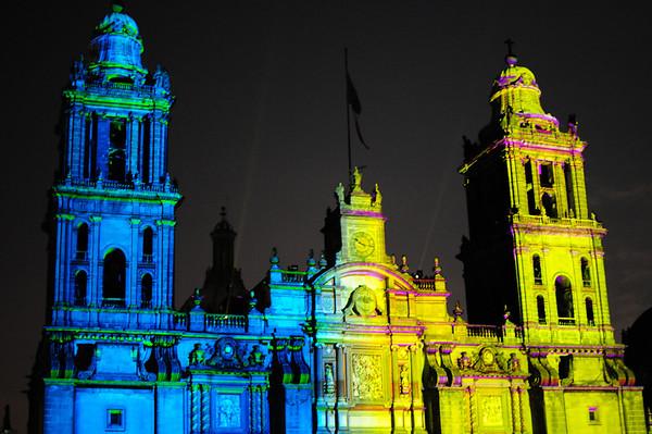 Mexico City Lightshow