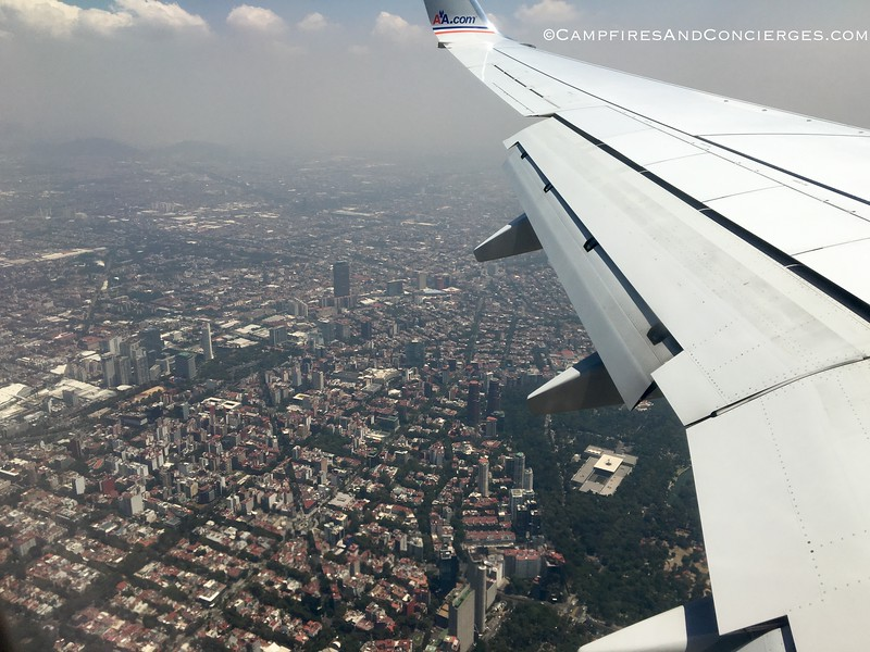 Mexico City Neighborhoods<br /> Polanco hotels below on the edge of the park