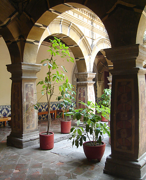 Courtyard of the Convento de Churubusco /National Museum of Interventions