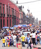 The market on Moneda, just east of the Zocalo