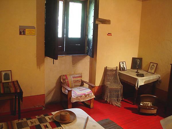 Trotsky's bedroom