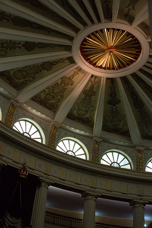 Part of the interior of the National Palace