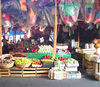 At the Jamaica Market.