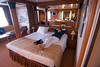 Here is a picture of our stateroom.  It was very nice as is obvious from this picture.