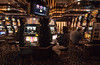 Uh-Oh!  Looks like someone is losing money at the quarter slot machines---AGAIN!!!.