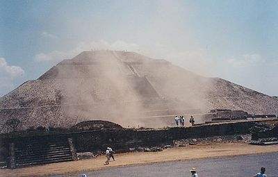 Teotihuacan dust
