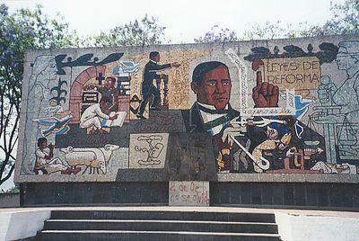 Wall panel near Oaxaca
