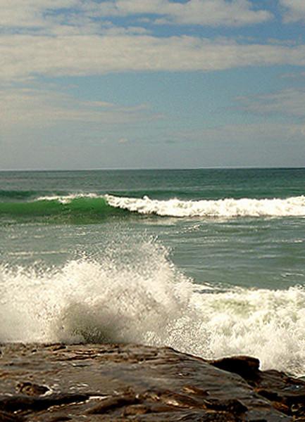 Las Gaviotas Waves Rock
