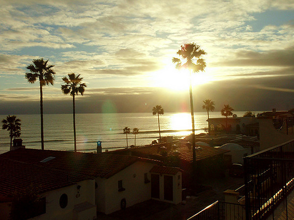 Las Gaviotas Sunset