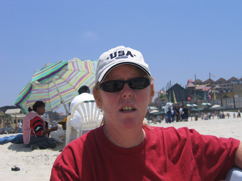 Mexico 2004 Lisa Rosarito Beach