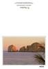 The rocks off Cabo San Lucas