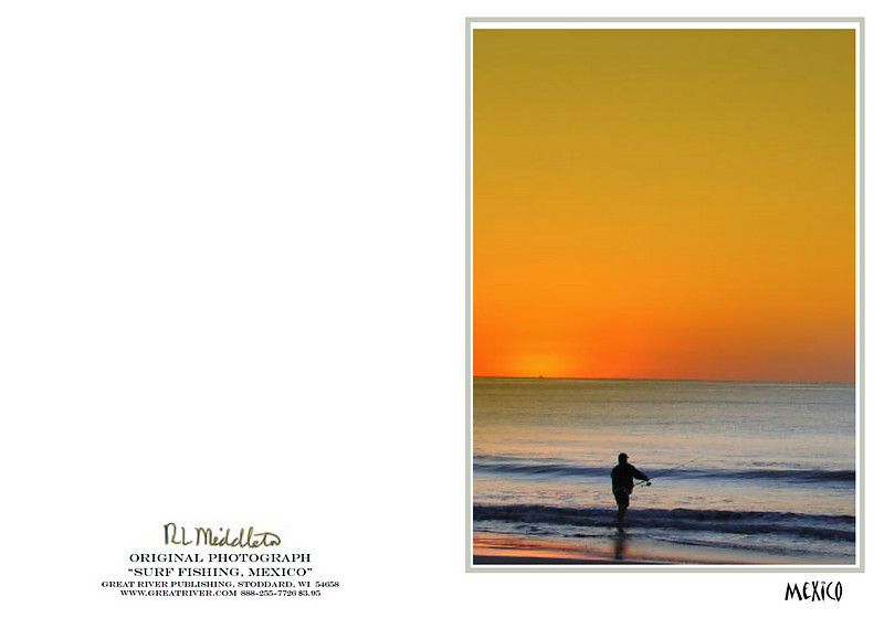 Surf Fishing<br /> Surf fishing is popular along the beaches... and often with glorious sunrises.