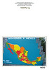 """Welcome to Mexico! I liked that this """"puzzel"""" map made finding specific Mexican states much easier."""