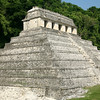 Egyptian-like pyramid holds the remains of an ancient Mayan king.