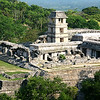 Royal Palace, Palenque, Chiapas, Mexico.