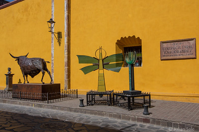There is lots of art in San Miguel de Allende