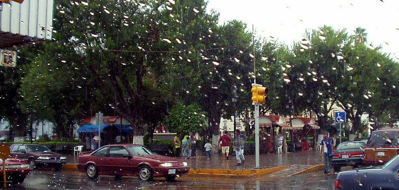 La plaza de Matamoros.