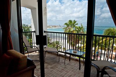 балкон из гостиной