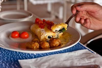 первый завтрак в Канкуне