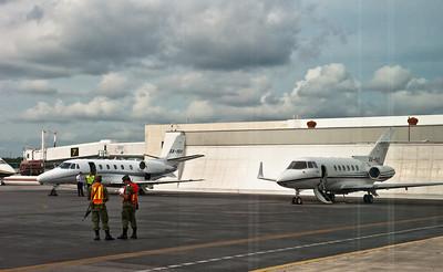 терминал частных самолетов в Канкуне