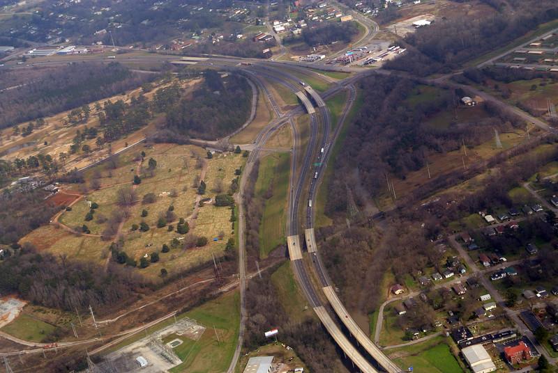 Interstate 20-59 and 18th Av, Bessemer, AL