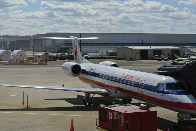 Embraer 135KL our ride from BHM to MIA