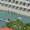 Dolphin show at Dreams resort next to Regency.