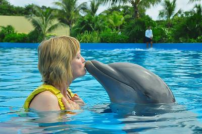 Jan Mexico USA Trip October 2013 Dolphinaris