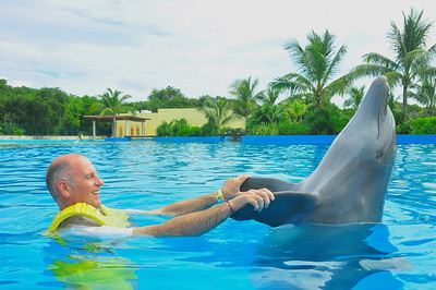 Brian Mexico USA Trip October 2013 Dolphinaris