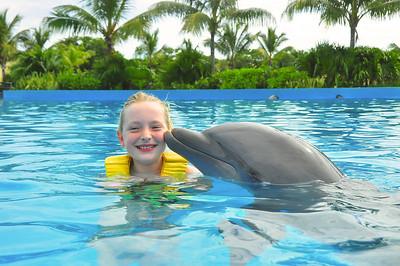 Meg Mexico USA Trip October 2013 Dolphinaris