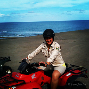ATV ride at the Chachalacas sand dunes